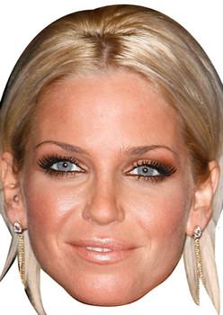 Sarah Harding Celebrity Face Mask