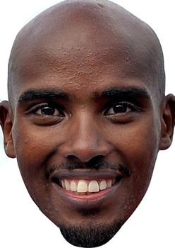 Mo Farrah Face Mask Olympic Mask