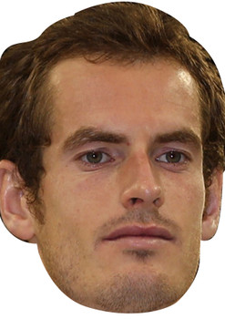 Andy murray celebrity party face fancy dress