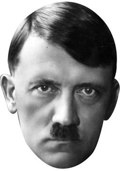 Hitler celebrity party face fancy dress