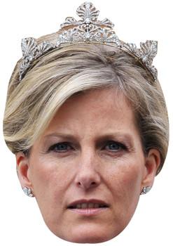 Princess sophie of wessex celebrity party face fancy dress