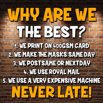 Charlie Rundle Mk1 celebrity Party Face Fancy Dress