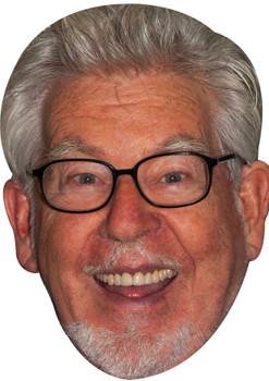 Rolf harris celebrity party face fancy dress