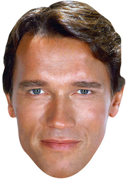 Young Arnold Schwarzenegger celebrity Party Face Fancy Dress