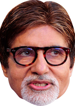 Amitabh Bachchan celebrity Party Face Fancy Dress