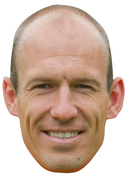 Arjen Robben Celebrity Face Mask