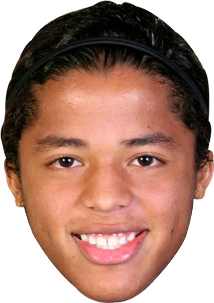 Dos Santos Barcelona Footballer Celebrity Face Mask