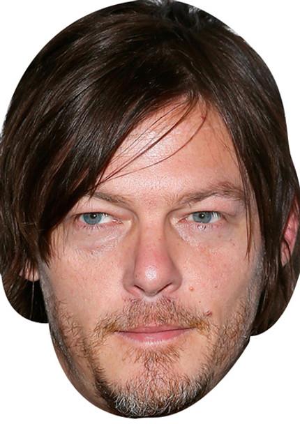 Norman Reedus 2018 Celebrity Face Mask