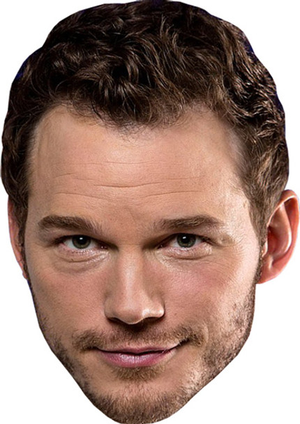 Chris Pratt Celebrity Face Mask