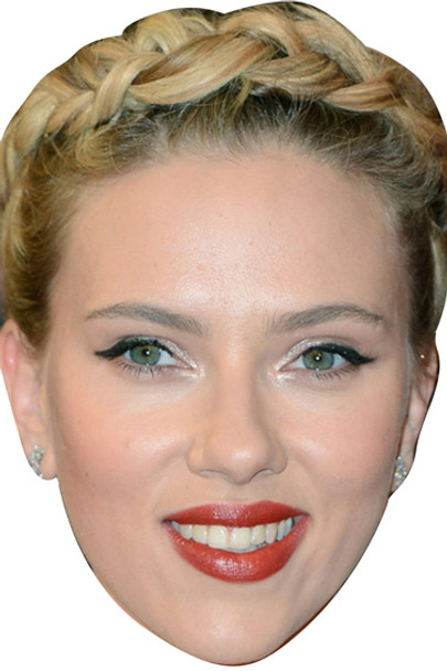 Scarlett Johansson Celebrity Face Mask