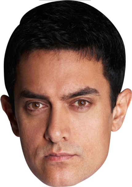 Aamir Khan Bollywood Face Mask