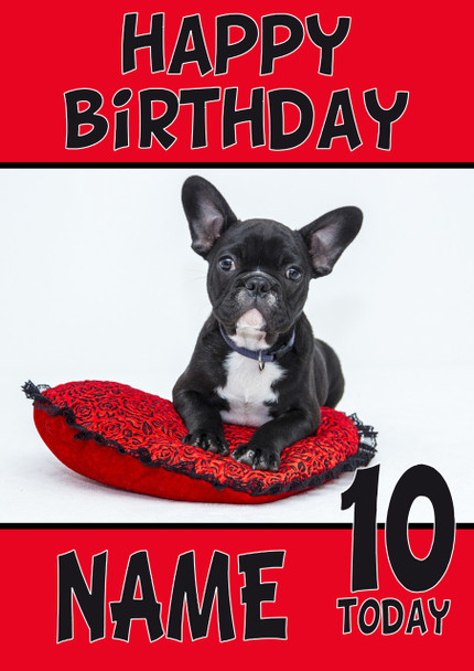 Personalised Dog Or Puppy Birthday Cards