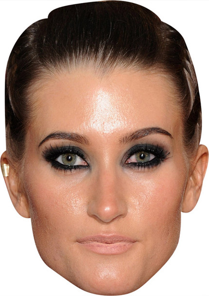 Charley Webb MH 2018 2018 Celebrity Face Mask