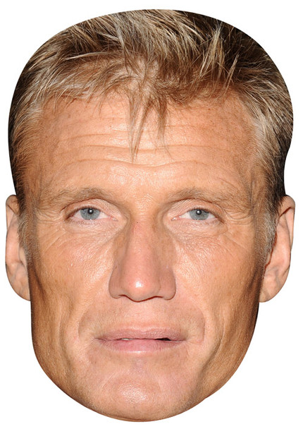 Dolph Lundgren Celebrity Face Mask