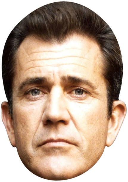 Mel Gibson Young 1990 celebrity party mask