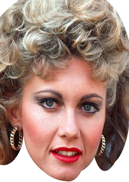 Olivia Newtonjohn Celebrity Face Mask