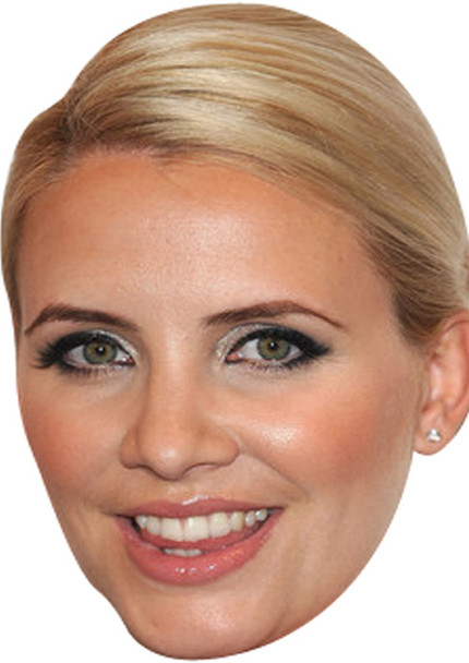 Claire Richards Music Celebrity Face Mask