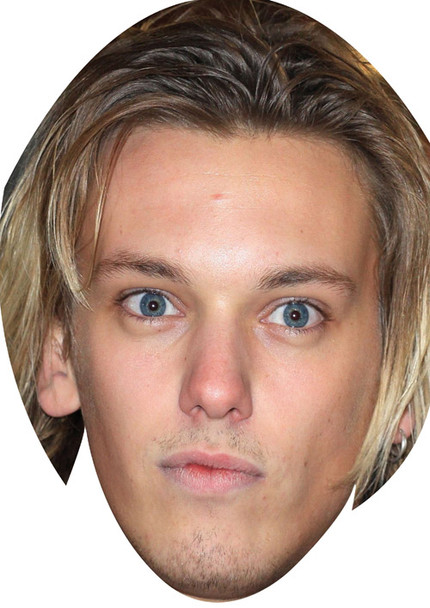 Jamie Campbell Bower Music Celebrity Face Mask