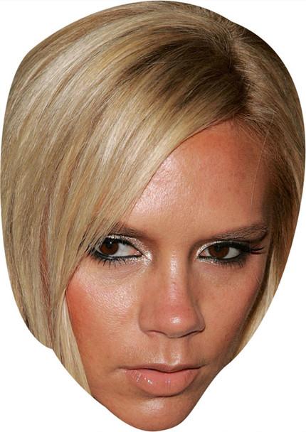 Posh Spice Music Celebrity Face Mask