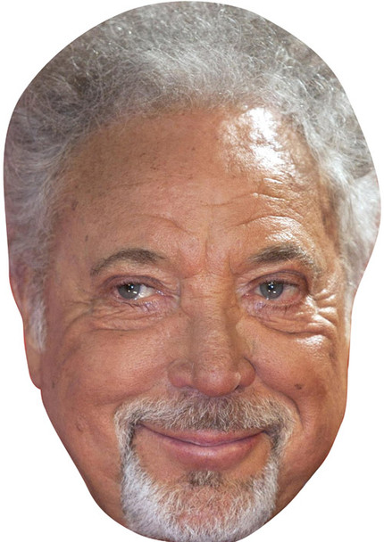 Tom Jones2 2018 Music Celebrity Face Mask