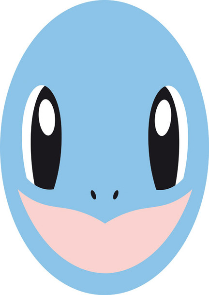 Squirtle 2018 Kids Celebrity Face Mask