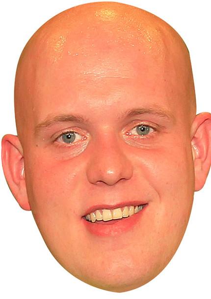 Michael Van Gerwin Sports Celebrity Face Mask