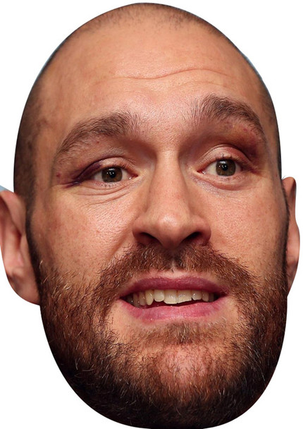 Tyson Fury 2018 Sports Celebrity Face Mask