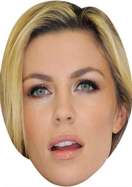 Abigail Clancy MH 2018 Tv Celebrity Face Mask