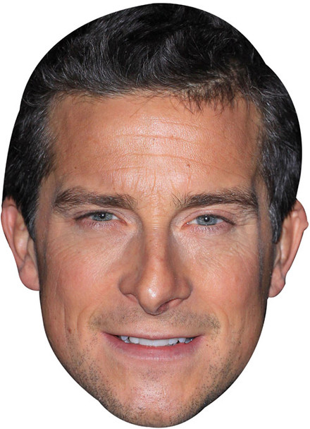 Bear Grylls Tv Celebrity Face Mask