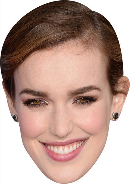 Elizabethhenstridge MH 2018 Tv Celebrity Face Mask