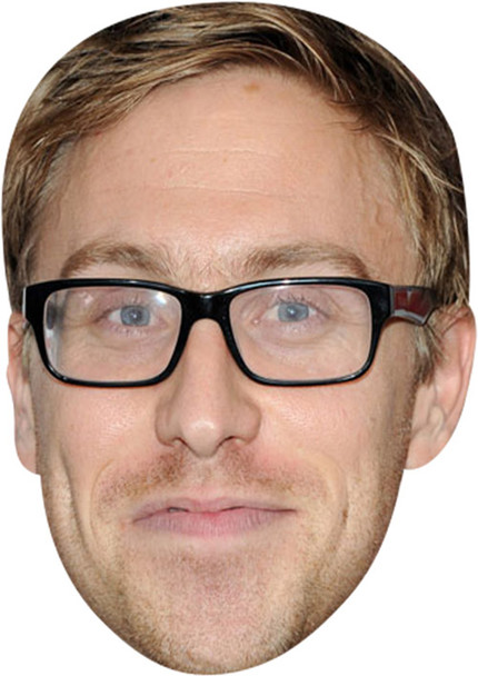 Russell Howard MH 2018 Tv Celebrity Face Mask