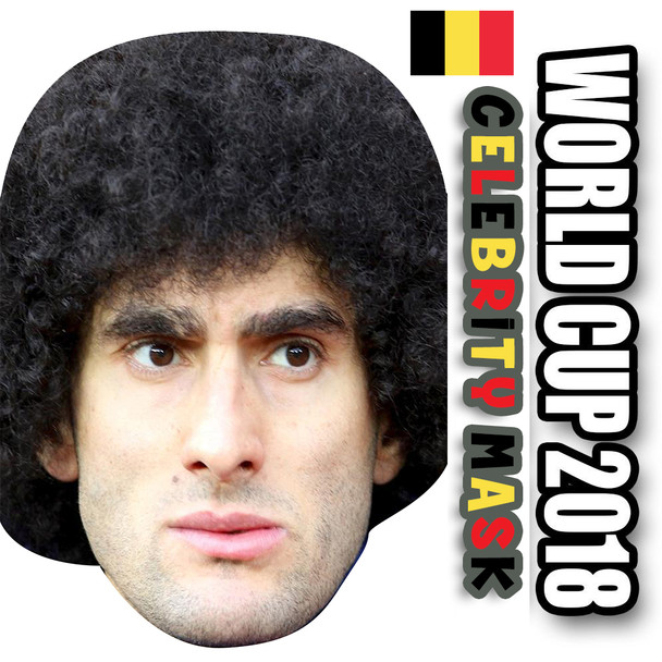 Marouanne Fellani Belgium Football World Cup 2018 Face Mask