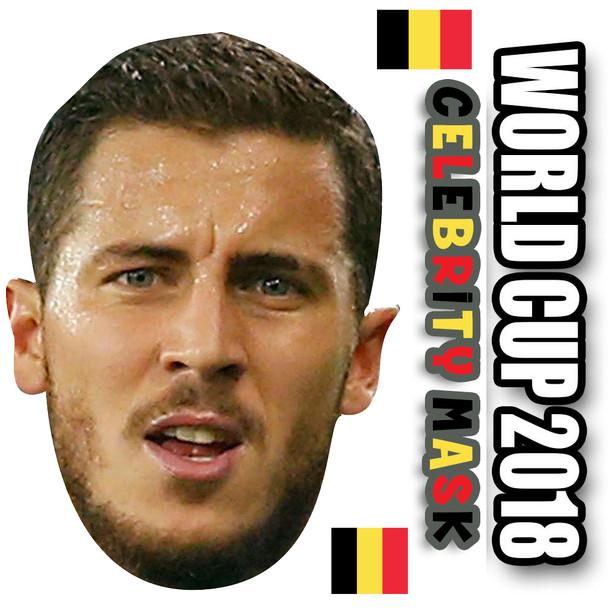 Eden Hazard Belgium Football World Cup 2018 Face Mask