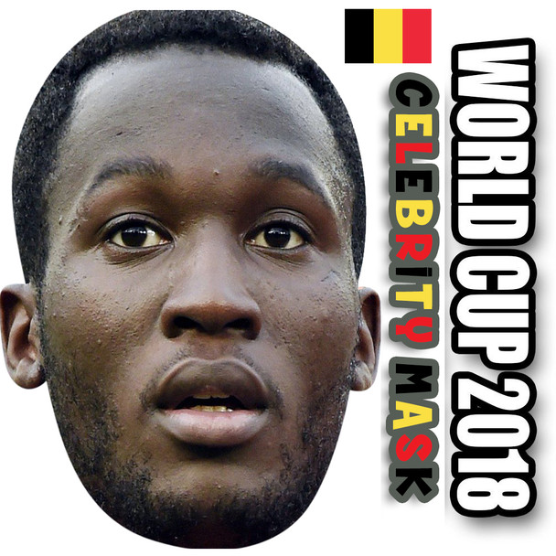 Romelu Lukaku Belgium Football World Cup 2018 Face Mask