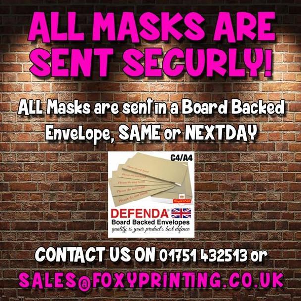 Sean Paul Celebrity Music Star Face Mask
