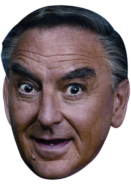 BOB MONKHOUSE JB - Funny Comedian Fancy Dress Cardboard Celebrity Face Mask