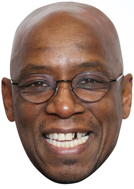 Ian wright im a celebrity party face fancy dress