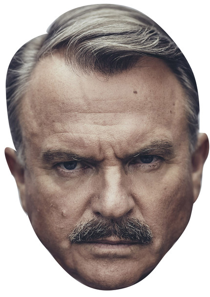 Sam Neill Inspector Chester Campbell Peaky Blinders Tv Movie Star Face Mask