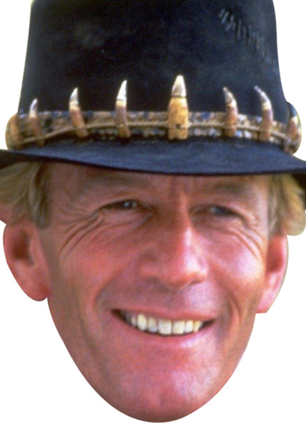 CROCODILE DUNDEE Actor Movie Tv celebrity party mask