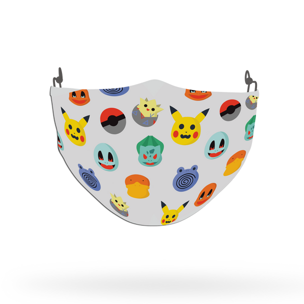 Pokemon Characters Pattern Face Covering Print 1