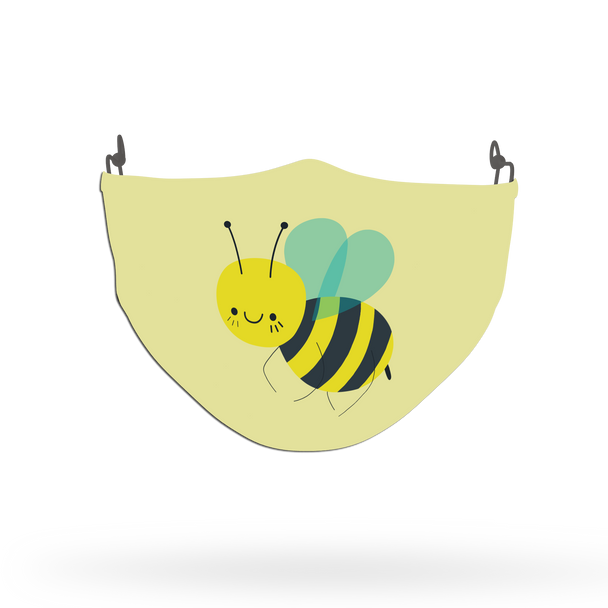 Cute Insect Theme Face Covering Print 4