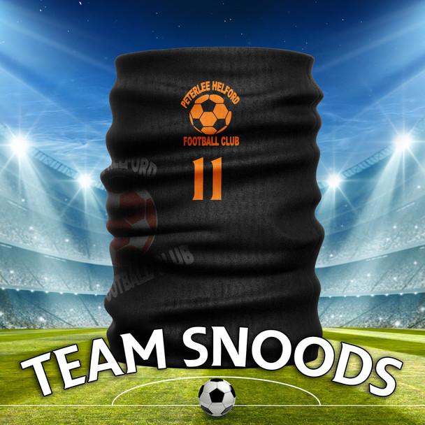 Peterlee Helford- Team Club Snood Club Colours