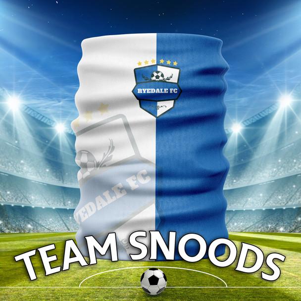 Ryedale FC - Team Club Snood Club Colours