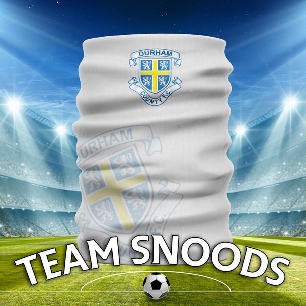 Durham Under 9s - Team Club Snood Club Colours