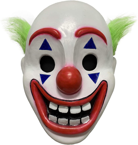 Joker clown Fancy Dress Face Mask 2021 - actor movie celebrity face mask Fancy Dress Face Mask 2021