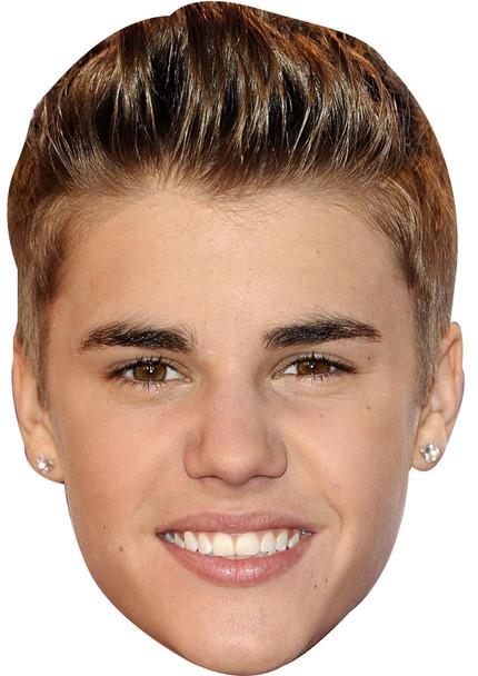 Justin Bieber 2011 Face Mask