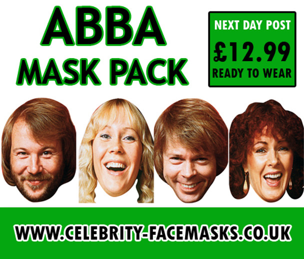 Abba Face Masks Pack
