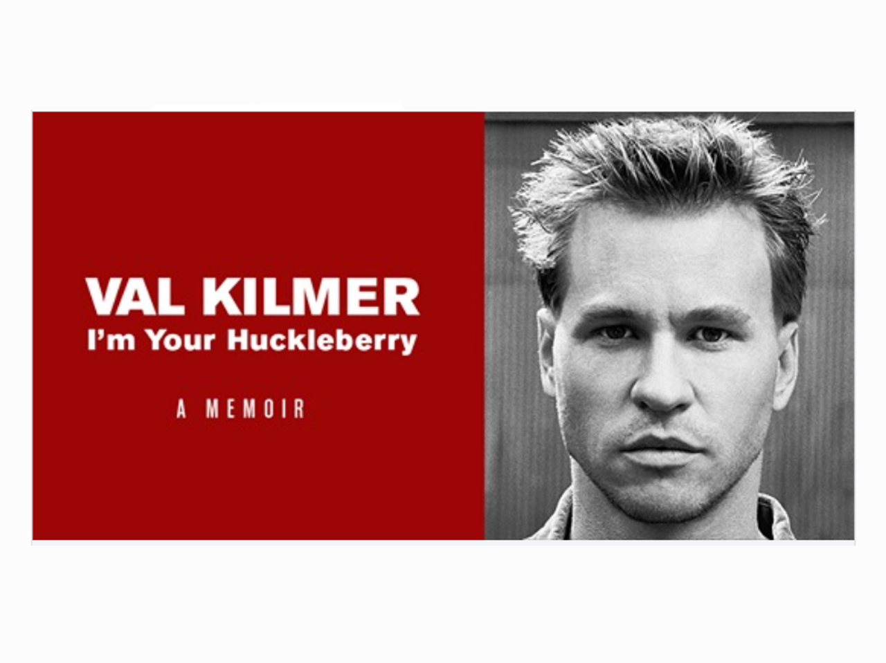 It's here! - I'm Your Huckleberry: A memoir