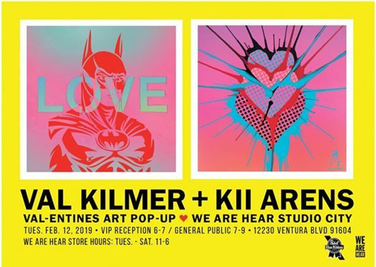 LOVE is in the air!! Val and Kii's Day! Exhibit