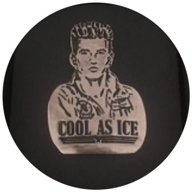 Iceman Pin